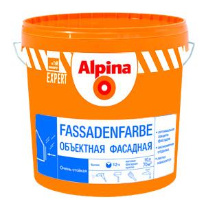 Краска акриловая фасадная Alpina Fassaden-farbe 15л
