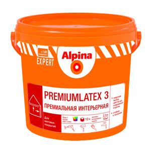 Alpina латексная краска Premiumlatex 3. База 1 (10 л)