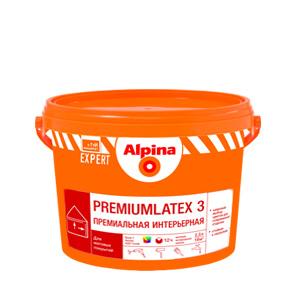 Латексная краска Alpina Premiumlatex 3, 5л