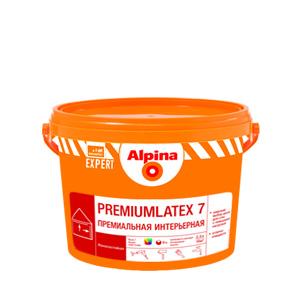 Акриловая краска Альпина Premiumlatex 7. База 1 (2,5л)