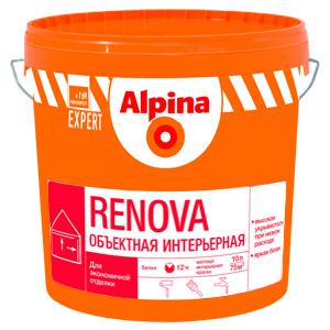Водно-акриловая краска Альпина Renova 15л