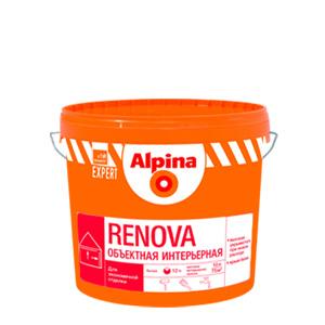 Акриловая краска для стен Alpina Renova 2,5 л