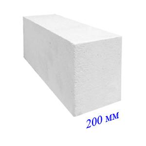 Силикатные блоки 200мм