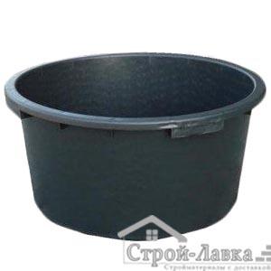 Пластиковое корыто (таз) для раствора 90 л круглое