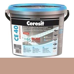 Бежевая фуга CE 40 Ceresit №43, 5 кг