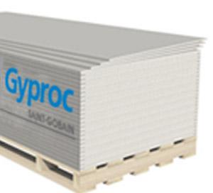 Гипсокартон потолочный Гипрок 9,5х2500х1200