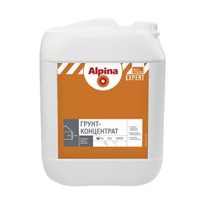 Глубокая грунтовка Альпина EXPERT 10л