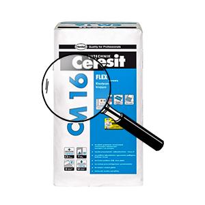 Клей для плитки Ceresit СМ 16, 25 кг