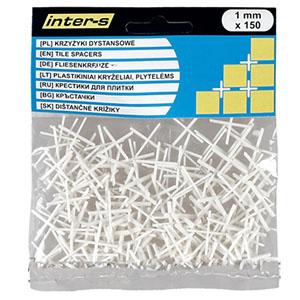 Крестики для плитки 1 мм, 150 шт.
