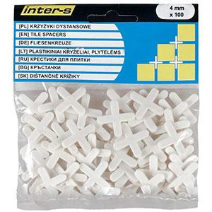 Крестики для напольной плитки 4 мм, 100 шт.
