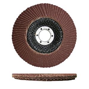 Лепестковый круг А100, 125 мм, Luga