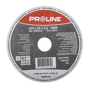 Круг для резки металла 125x1,2 мм, Proline