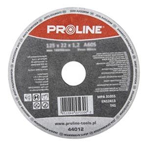 Диск отрезной по металлу 180x1,6 мм, Proline