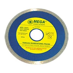 Диск для резки плитки 125 мм алмазный, сплошной, Mega