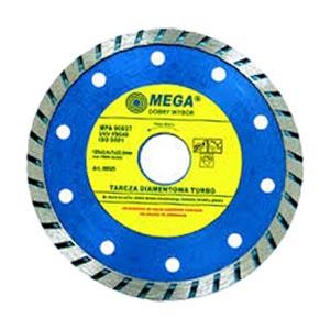 Алмазный диск для болгарки 125 мм Турбо, Mega