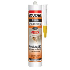 Монтажный клей Soudal Montage Fix 250 мл