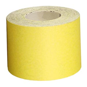 Шлифшкурка на бумажной основе Р180 рулонная