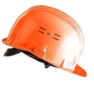 Каска строительная защитная оранжевая, Исток