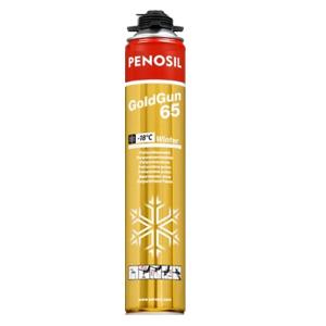 Пена монтажная зимняя Penosil GoldGun 65 Winter, 900 мл