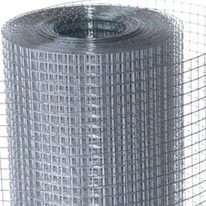Сетка оцинкованная сварная 12,5x12,5x0,6 мм, ширина 1 м