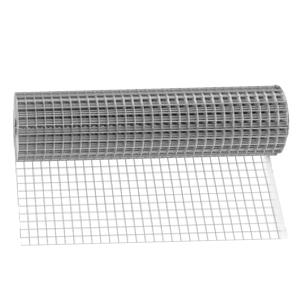 Сетка сварная оцинкованная 20x20x0,8 мм, ширина 1 м