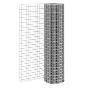 Сетка сварная оцинкованная 25x25, d=1,4 мм, ширина 1 м