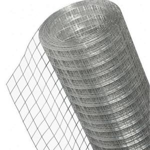 Сетка сварная оцинкованная 50x50, d=1,8 мм, ширина 1,5 м