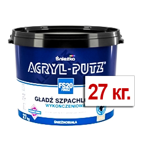 Шпатлёвка финишная Акрил-Путц 27кг РП
