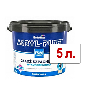 Шпатлёвка финишная Акрил-Путц 5 кг