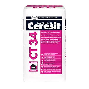 Шпатлевка фасадная белая Ceresit CT 34 25кг РБ