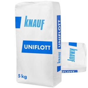 Унифлот Кнауф шпатлевка гипсовая высокопрочная 5кг Лат.