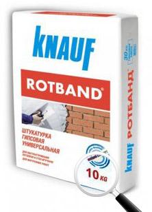 Штукатурка Rotband Knauf гипсовая  10кг РФ