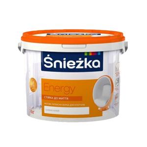 Краска латексная Sniezka Energy White 10 л
