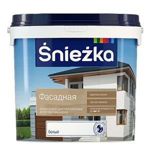 Краска для наружных работ Sniezkа Фасадная 10л