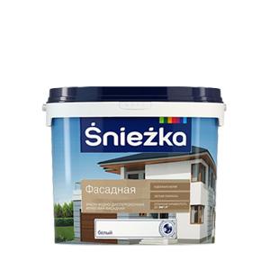 Фасадная краска  Sniezkа Extra Fasadowa 5л