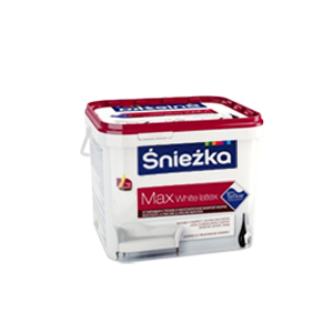 Краска для стен Sniezka Max Latex White 3 л