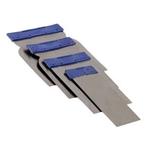 Японский шпатель, набор шпателей 5, 8, 10, 12 см, нерж.
