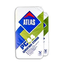 Цементная стяжка Atlas PС44 25 кг