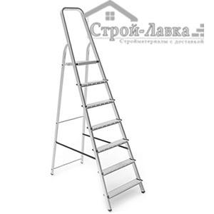 Стремянка лестница металлическая 7 ступеней, NV 1132