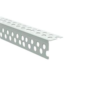 Перфорированный уголок 2,5 м алюминиевый