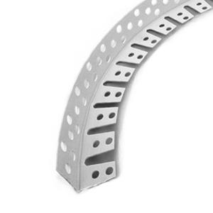 Уголок металлический арочный перфорированный 3 м