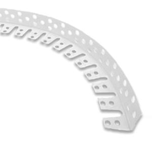 Арочный уголок пластиковый 3м, толщина 0,8мм