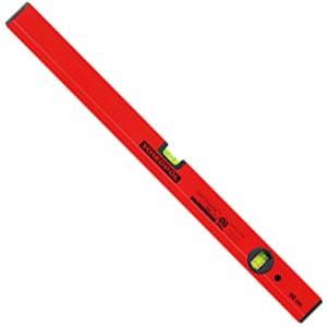 Уровень инструмент пузырьковый 100 см, красный