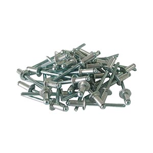 Заклепки вытяжные алюминиевые 3,2х8 мм, 50 шт.