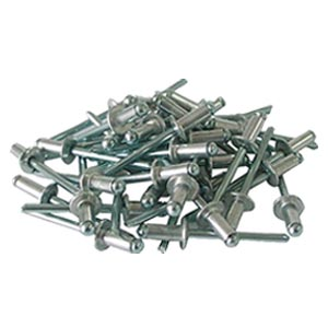 Заклепки алюминиевые 4х10 мм, 50 шт.