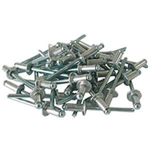 Алюминиевые заклепки 4х12 мм, 50 шт.