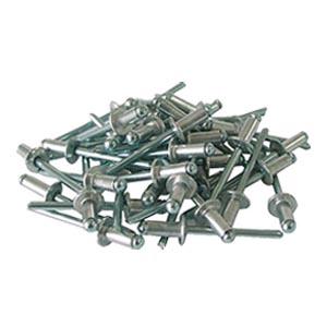 Вытяжные заклепки 4х8 мм, 50 шт. алюминиевые
